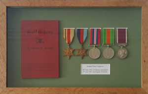 Medals with Certificate of Service