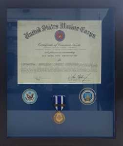 United States Marine Corps certificate of commendation