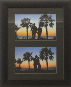 Stunning holiday pictures framed in all black